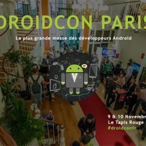 Droidcon Paris, FrAndroid est partenaire média de l'événement dédié aux développeurs