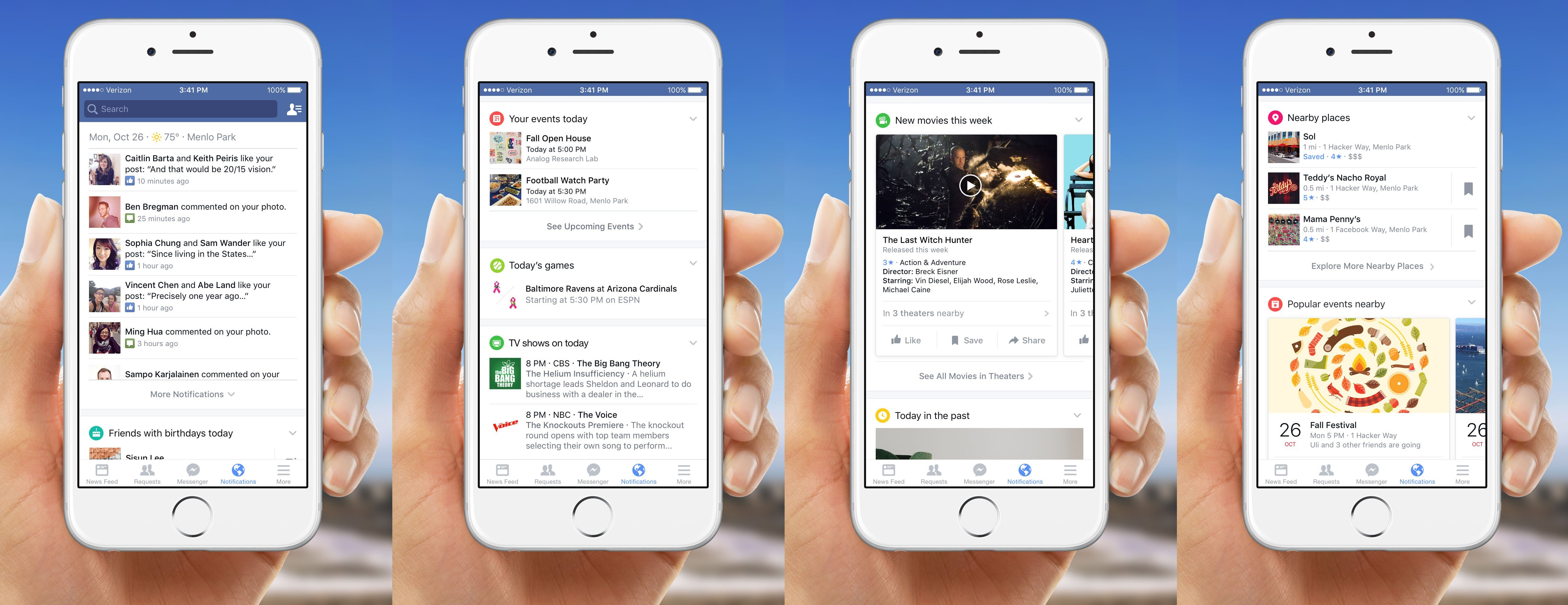 Facebook repense totalement ses notifications