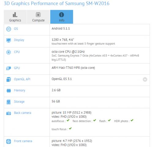 Samsung Galaxy Golden SM-W2016, un smartphone à clapet haut de gamme ?