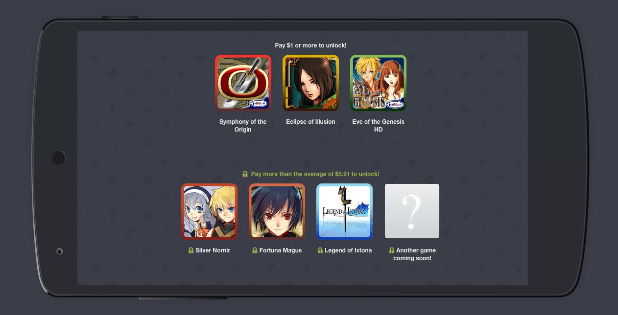 Humble Mobile Bundle Kemco mise sur les RPG