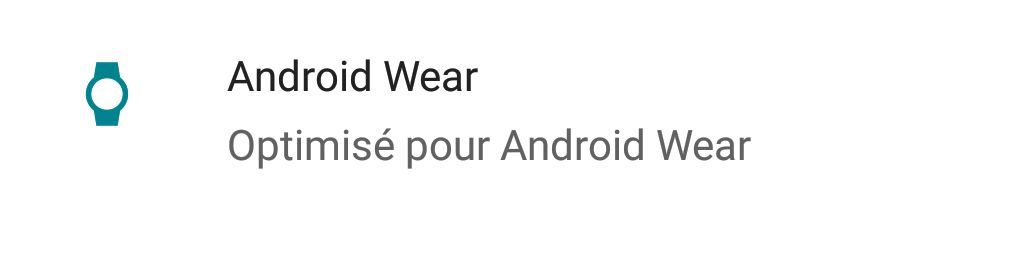 Play Store : une nouvelle icône pour repérer les applications compatibles avec Android Wear