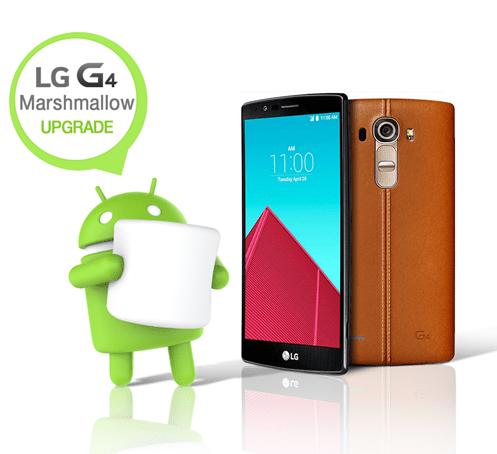 Sur le LG G4, Marshmallow arrivera en France avant la fin 2015