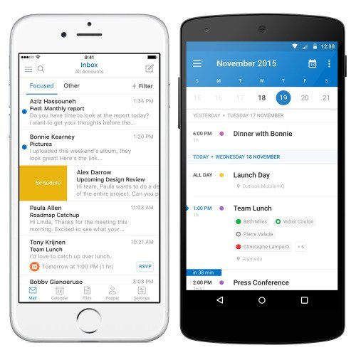 Sunrise Calendar va être intégré au sein de l'application Outlook