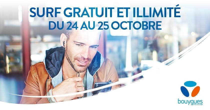 Bouygues Telecom : un week-end de 4G illimitée et gratuite dès samedi prochain