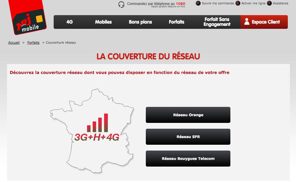 NRJ Mobile (EI Telecom) passe sur le réseau de Bouygues Telecom