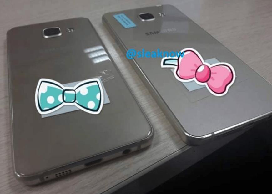 Les Samsung Galaxy A3 et Galaxy A5 (2016) font une première apparition