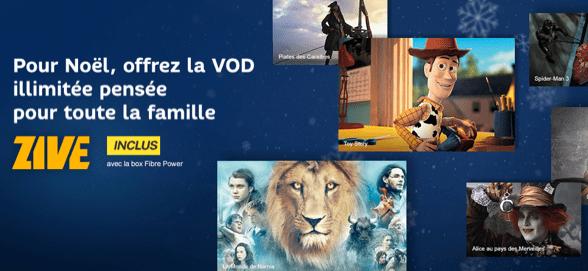 SFR intègre son service de streaming Zive dans ses offres mobile et box