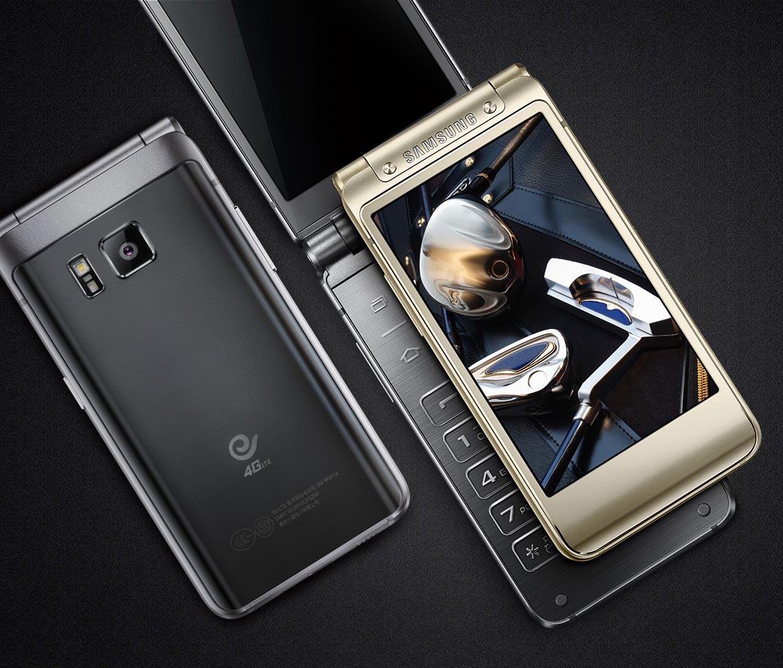 Samsung au travail sur un smartphone à clapet très haut de gamme