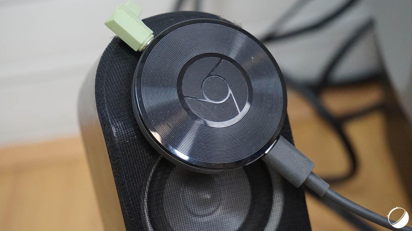 Test du Chromecast Audio, le parfait compagnon de vos oreilles
