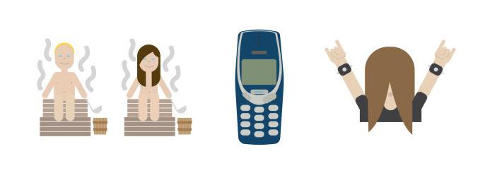 La Finlande se paye ses propres emojis