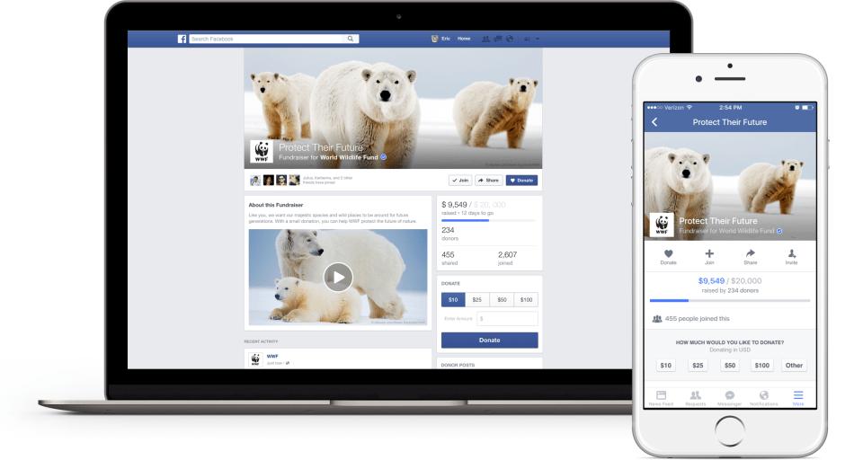 Quand Facebook se rêve en Kickstarter du caritatif