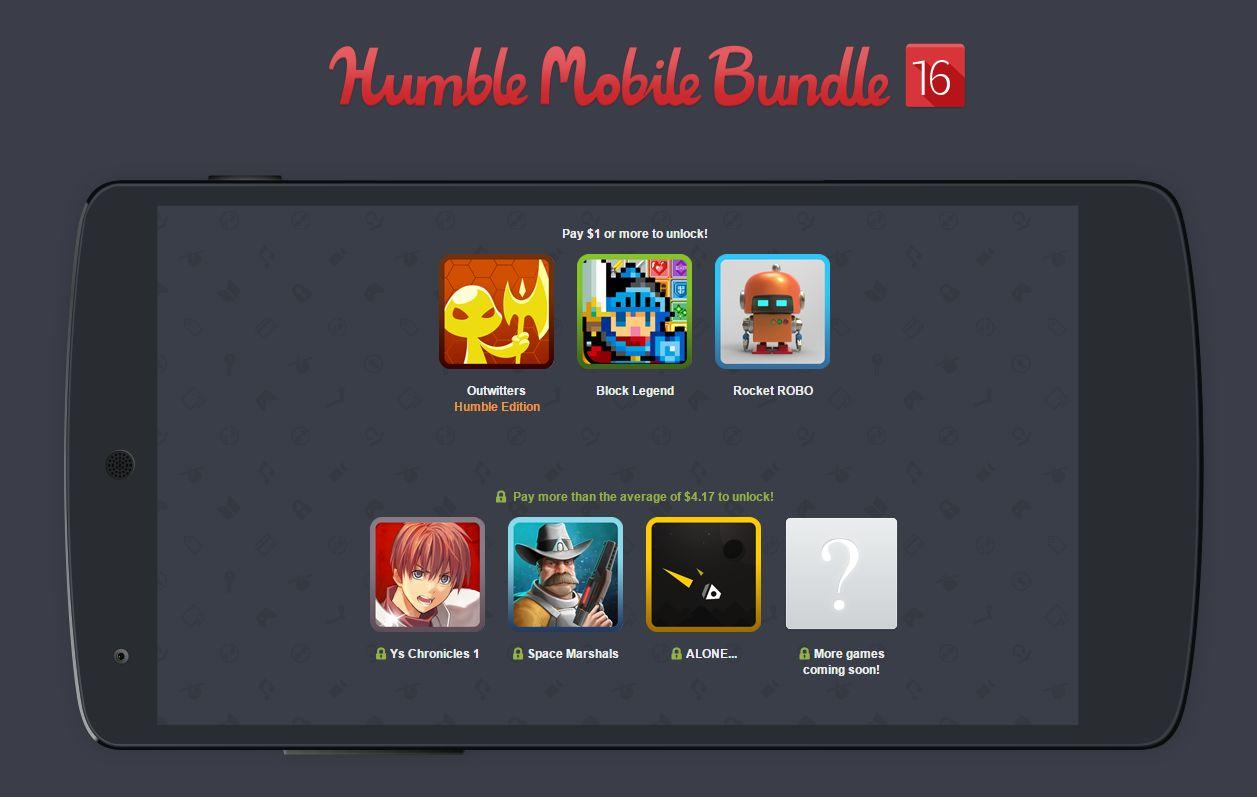 Humble Mobile Bundle 16 : Space Marshals, Ys Chronicles, Block Legend