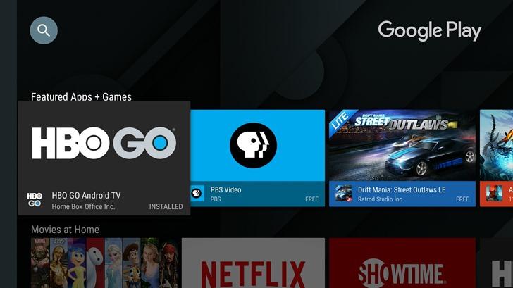 Google fait évoluer en douceur l'interface du Play Store sur Android TV