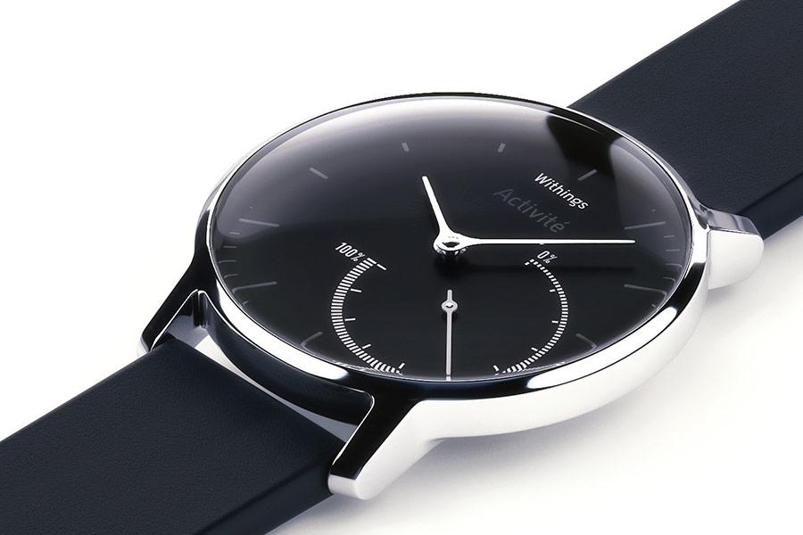 Withings annonce l'Activité Steel, une déclinaison en métal de la montre Pop