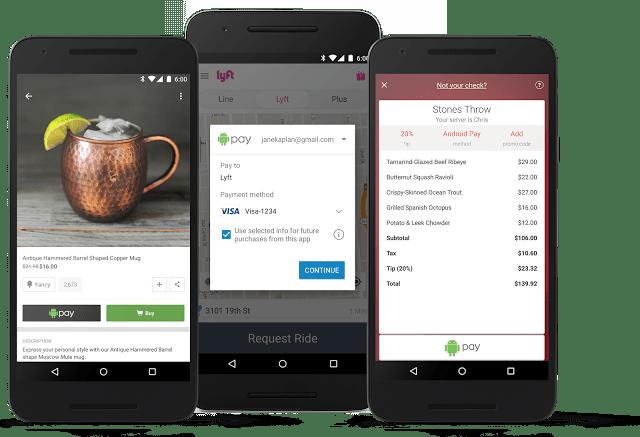 Android Pay s'ouvre à de nouveaux partenaires et de nouvelles contrées