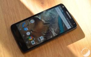 Test du Motorola Moto X Force, la résistance à l'honneur