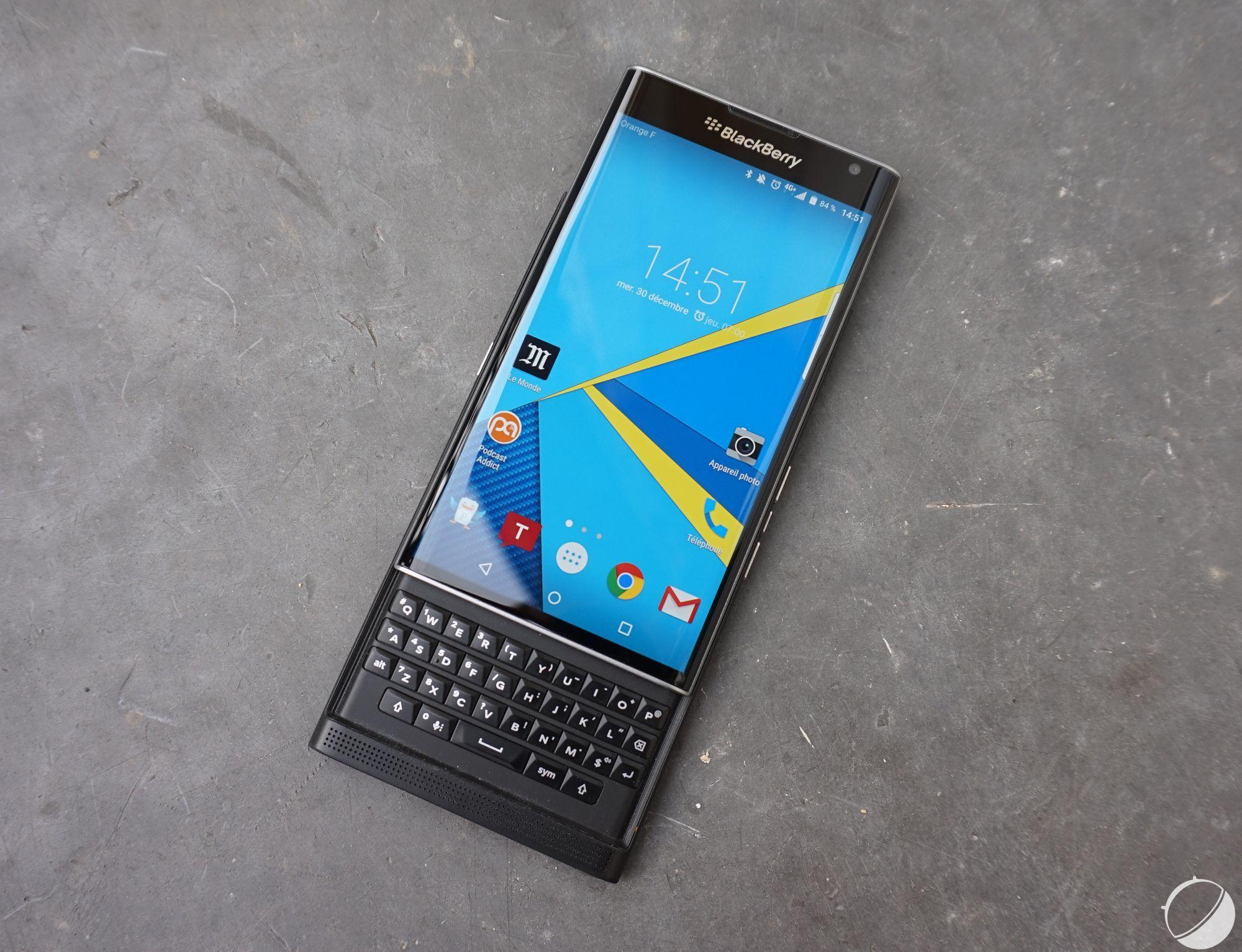 Blackberry Priv : le test vidéo de la rédaction