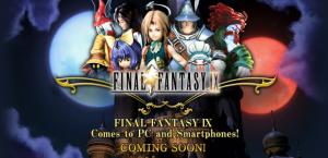 Final Fantasy IX est arrivé sur le Google Play Store