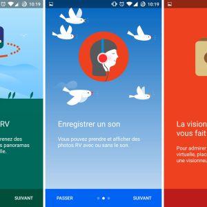 Google Cardboard Camera transforme les photos de vacances en expérience de réalité virtuelle