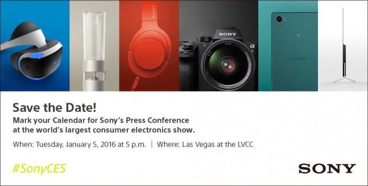 CES 2016 : Sony tiendra sa conférence de presse le 5 janvier