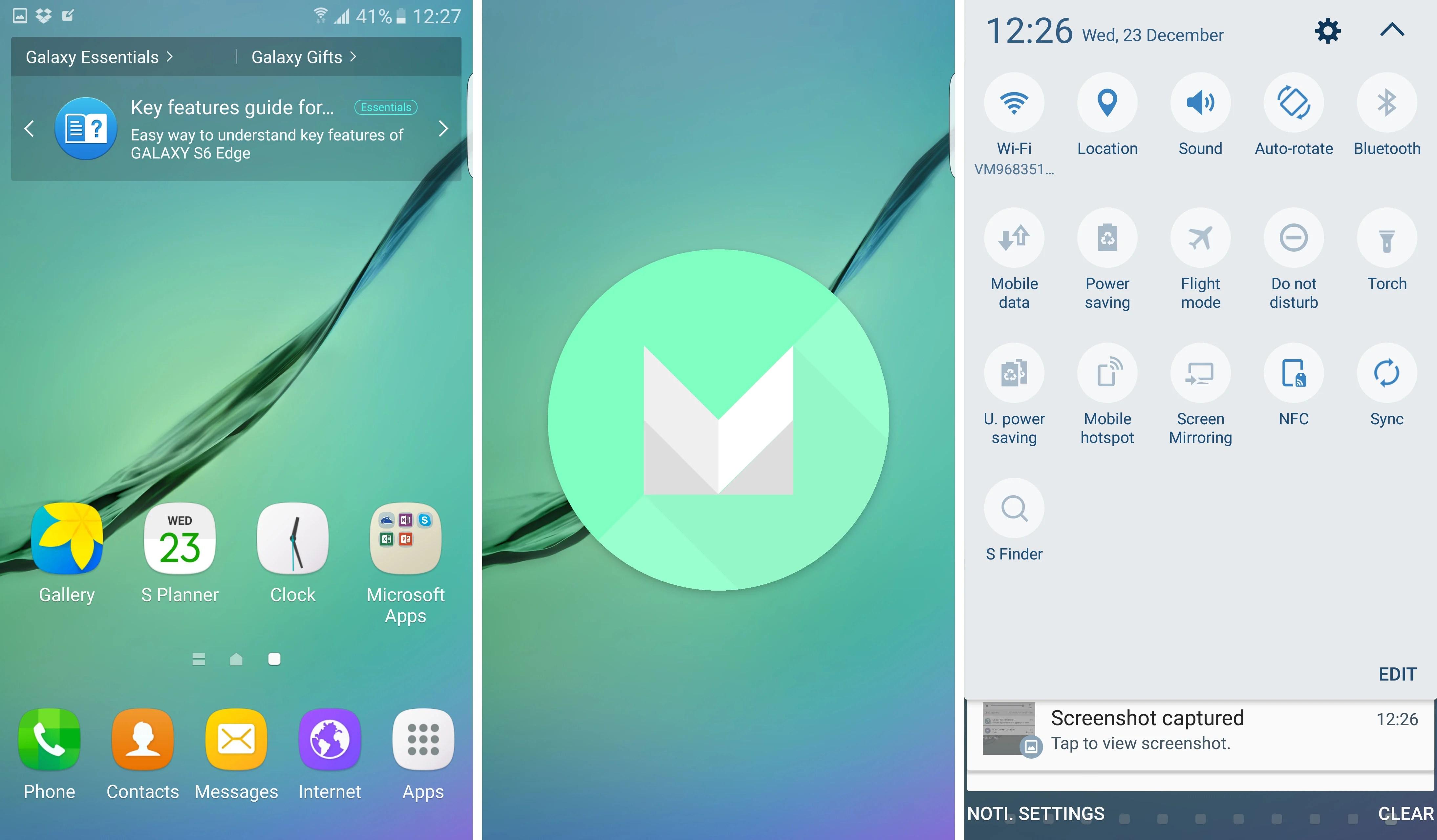 6 nouveautés apportées par Android 6.0 Marshmallow aux Samsung Galaxy S6 et S6 edge