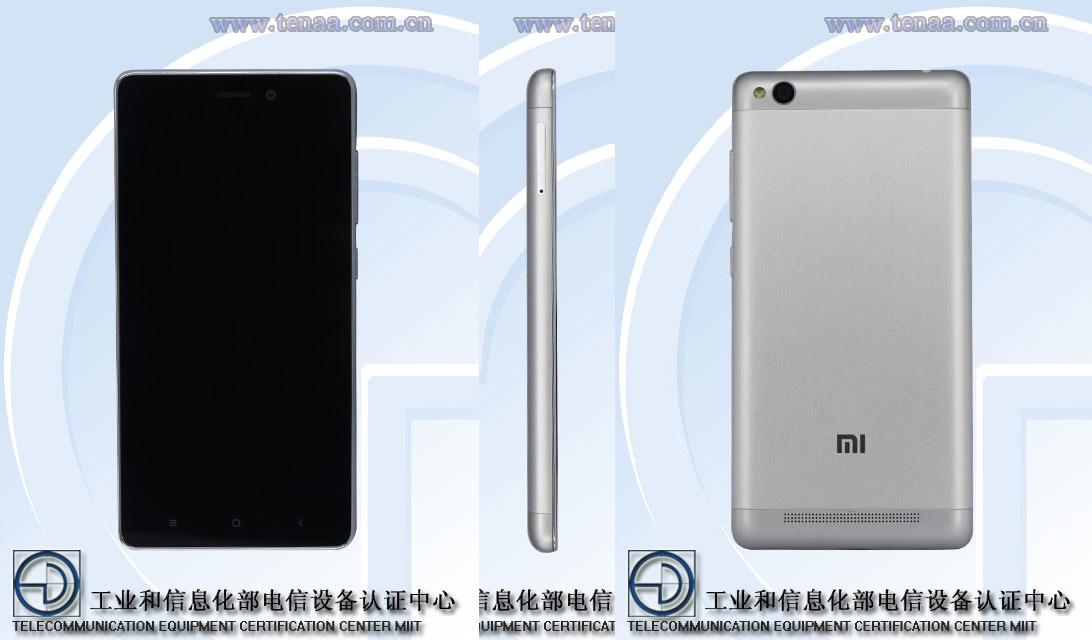 Le Xiaomi Redmi 3 se dévoile au travers des documents de la TENAA