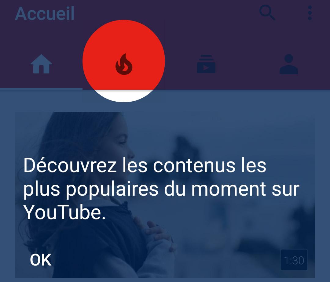 YouTube gagne un onglet «tendances» et plus d'informations sur le chargement des vidéos