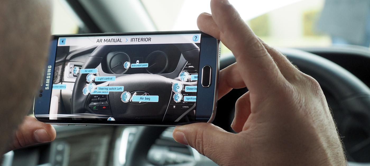 CES 2016 : Hyundai veut remplacer les manuels d'utilisation par de la réalité augmenté