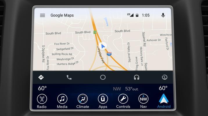 CES 2016 : au tour de Fiat Chrysler de passer à Android Auto