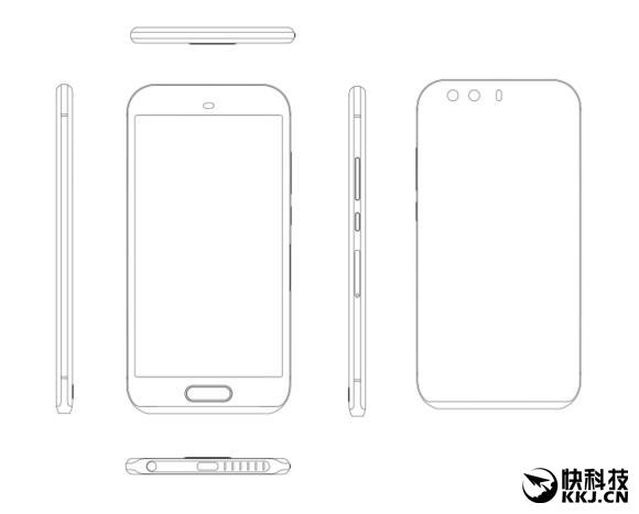 Huawei P9, un lecteur d'empreintes digitales en façade ?