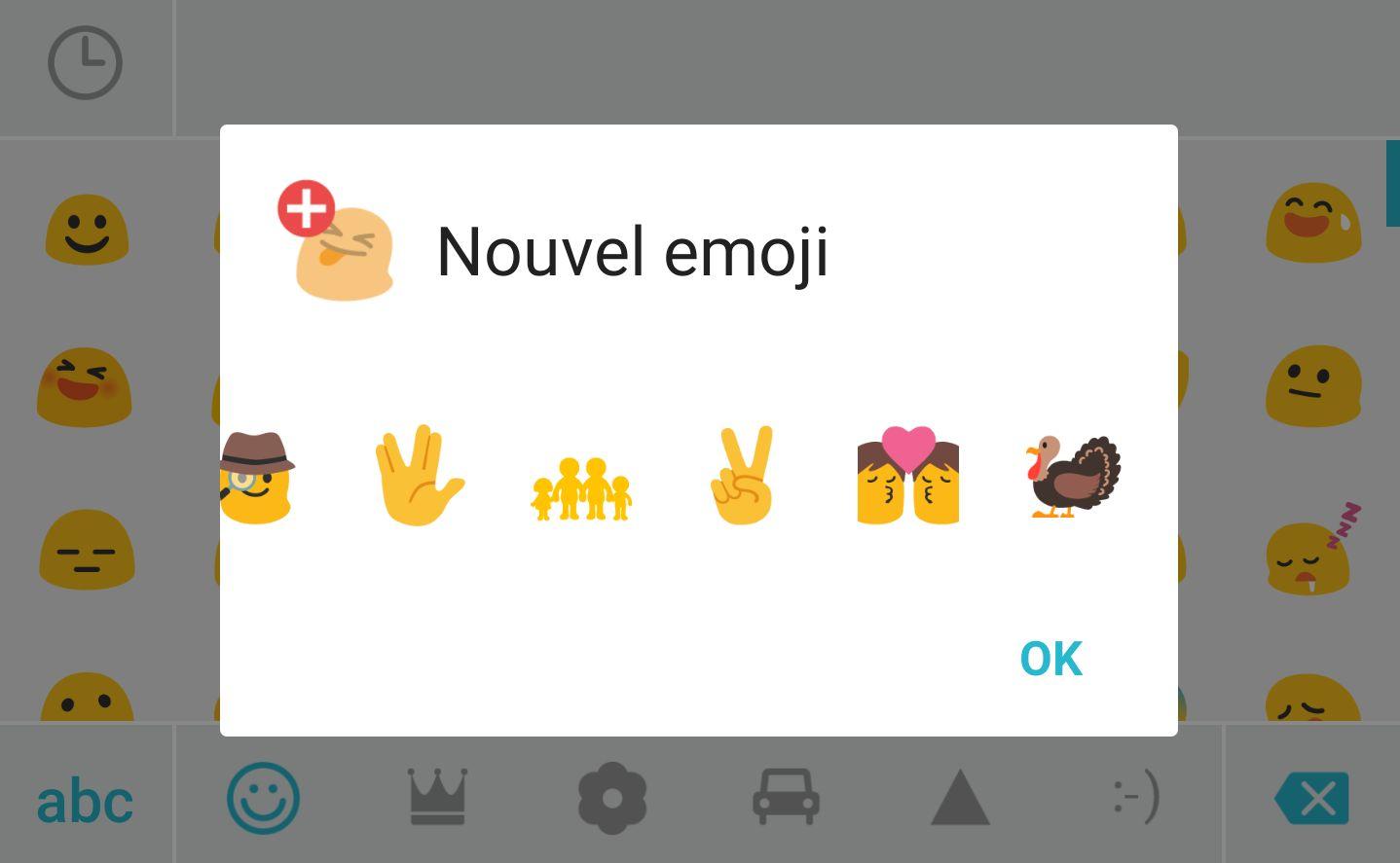 La nouvelle mise à jour de SwiftKey inclut les derniers emojis du moment