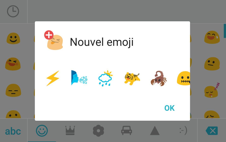 Textra SMS, les nouveaux emojis sont aussi sur Jelly Bean et Ice Cream Sandwich