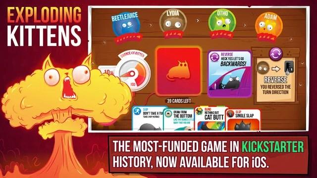 Exploding Kittens : le jeu de cartes de The Oatmeal arrivera bientôt sur Android