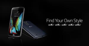 K4, K5 et K8 : LG prévoit d'élargir sa gamme K