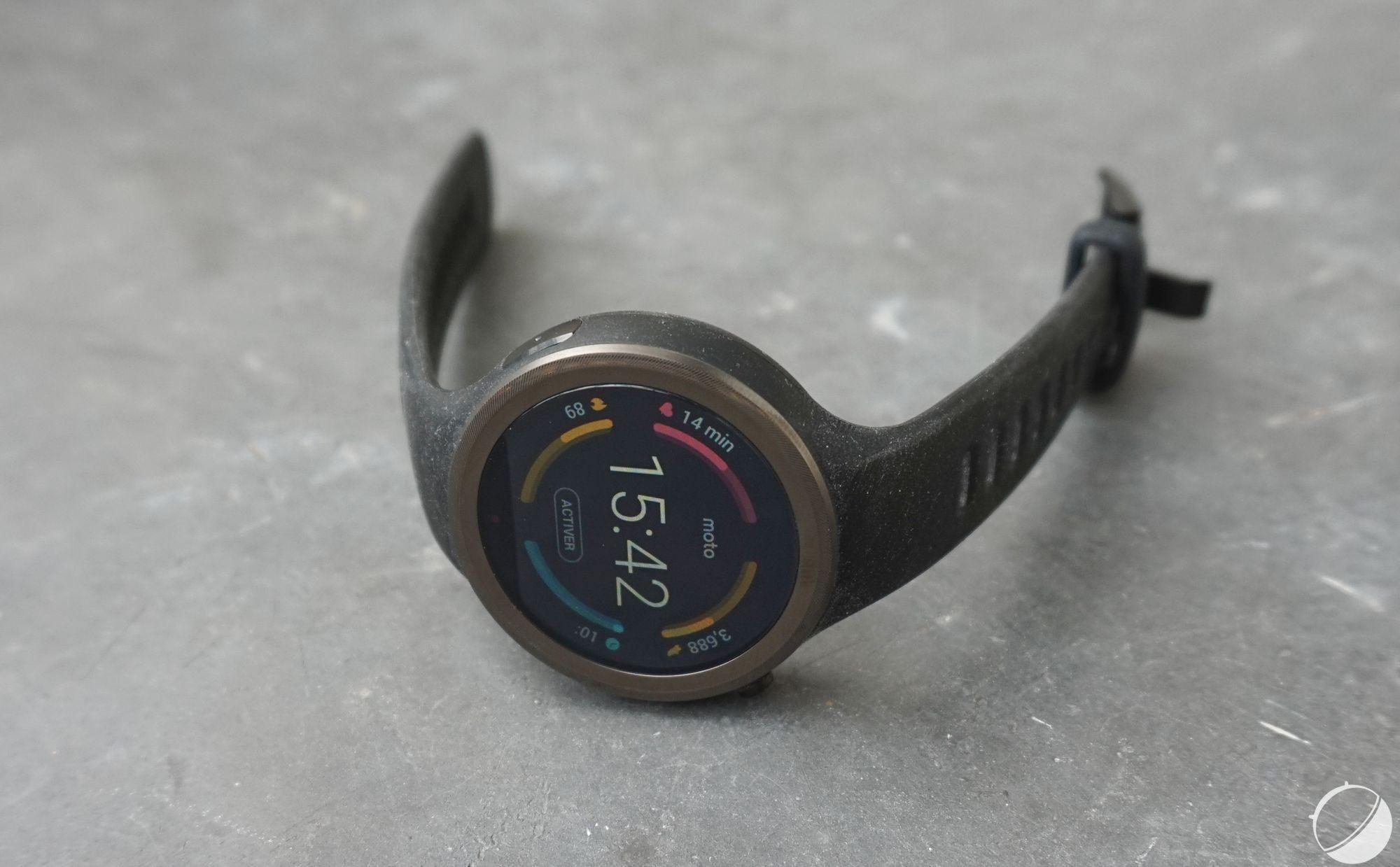 Motorola Moto 360 Sport : un petit tour sur le Google Store et puis s'en va