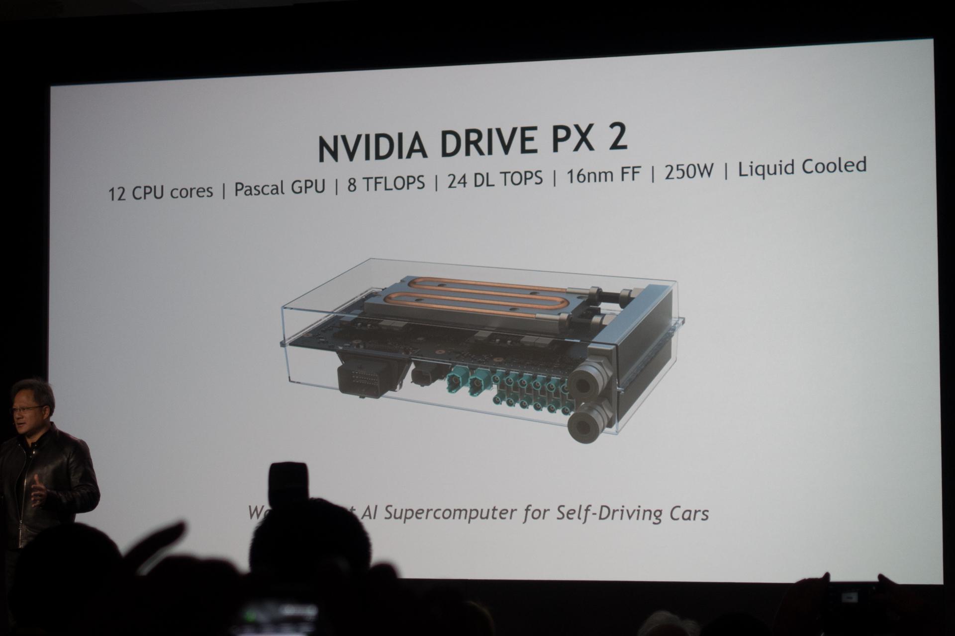 Avec la plateforme Drive PX 2, Nvidia préfère la voiture autonome à la mobilité