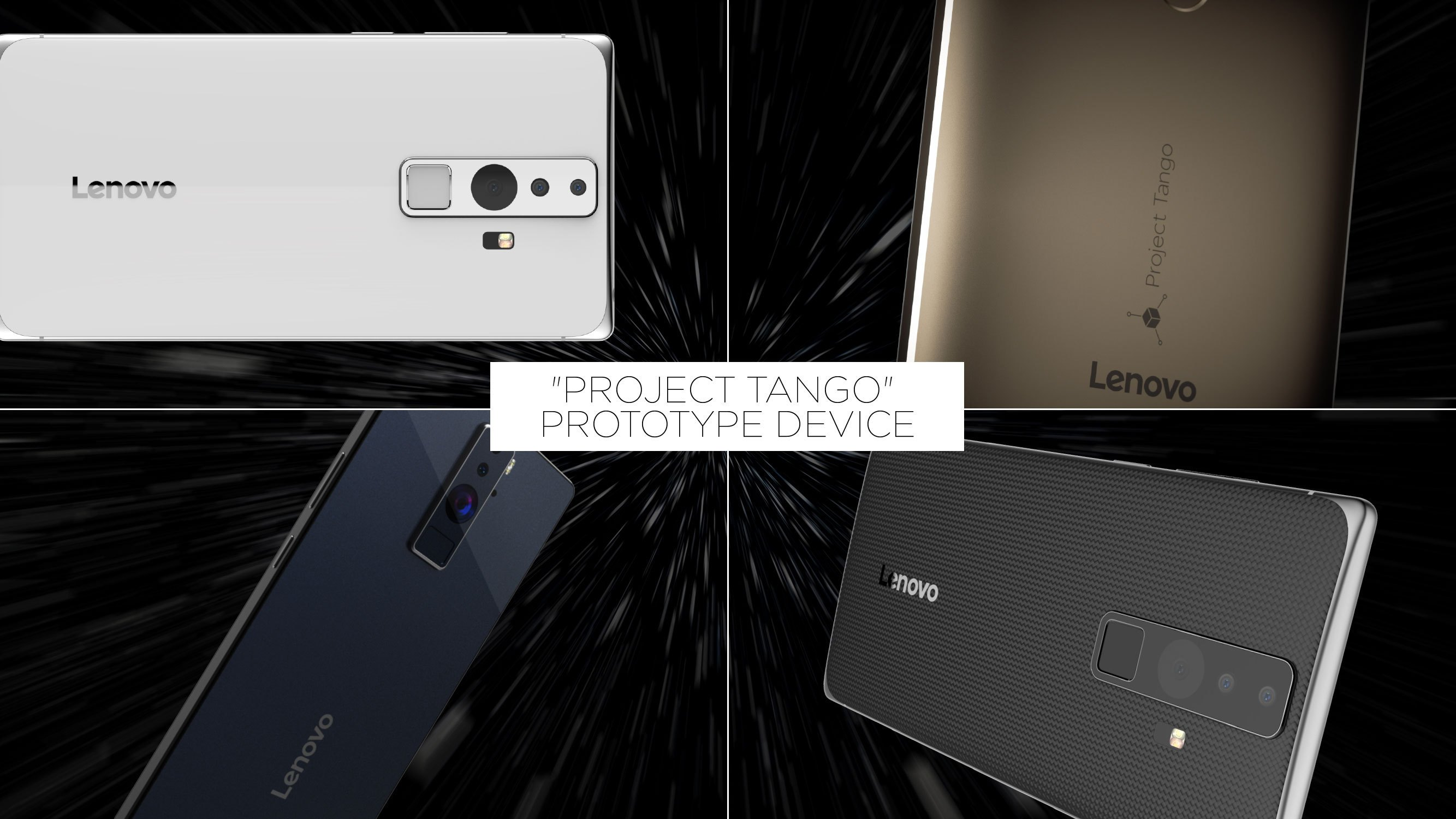 CES 2016 : Le premier smartphone Projet Tango sera signé Lenovo