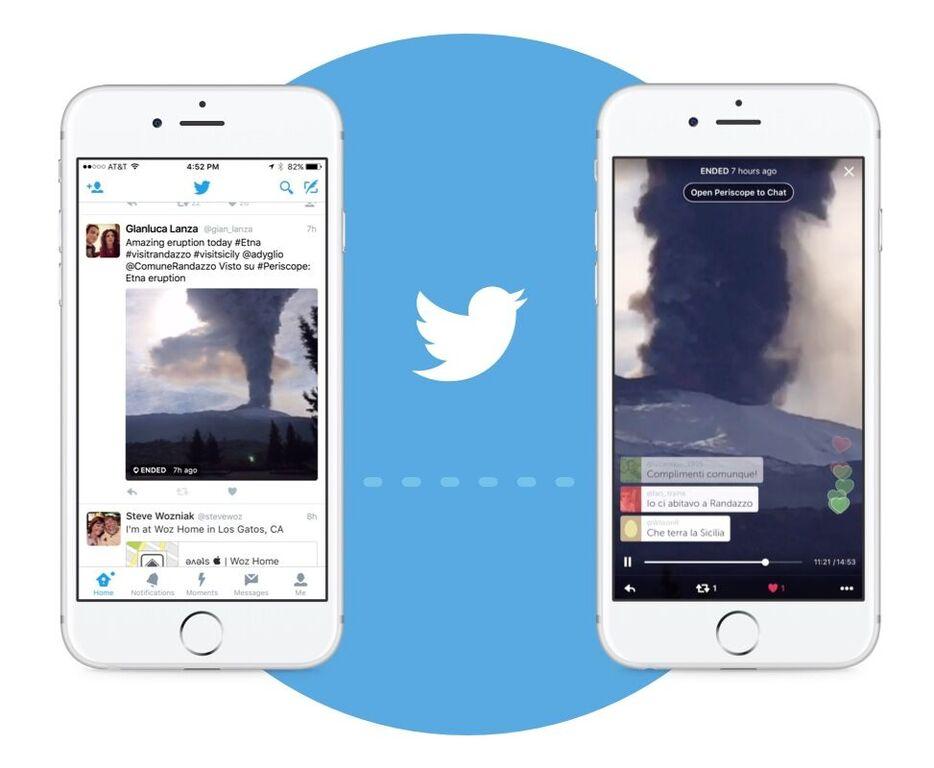 Les flux Periscope vont bientôt se lancer automatiquement sur Twitter