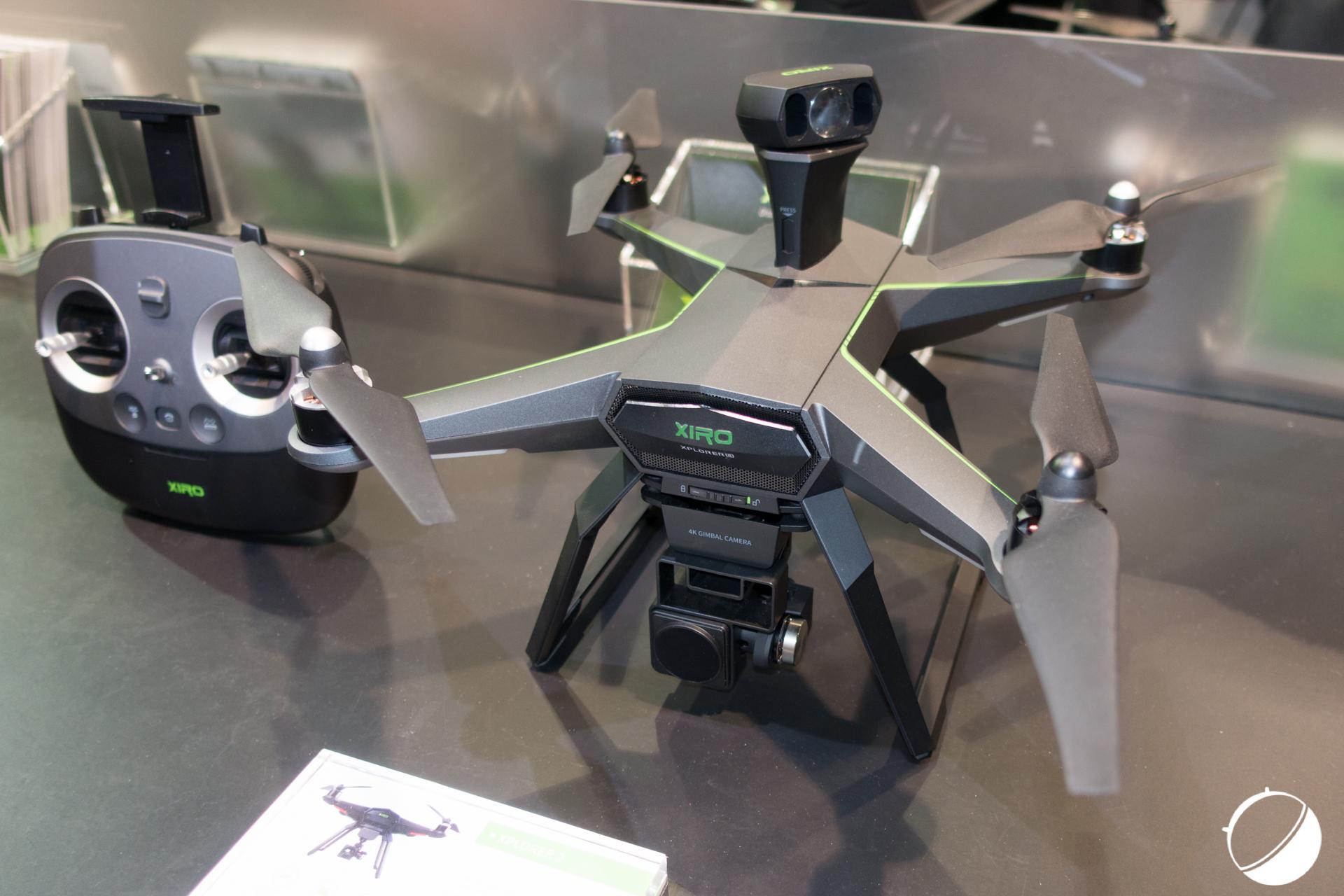 CES 2016 : Xiro Xplorer 2, le drone éviteur d'obstacles devient enfin une réalité