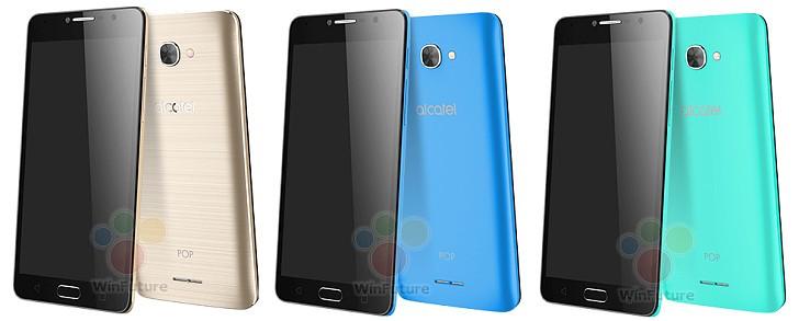 Alcatel OneTouch Pop 4, trois nouveaux smartphones au MWC ?