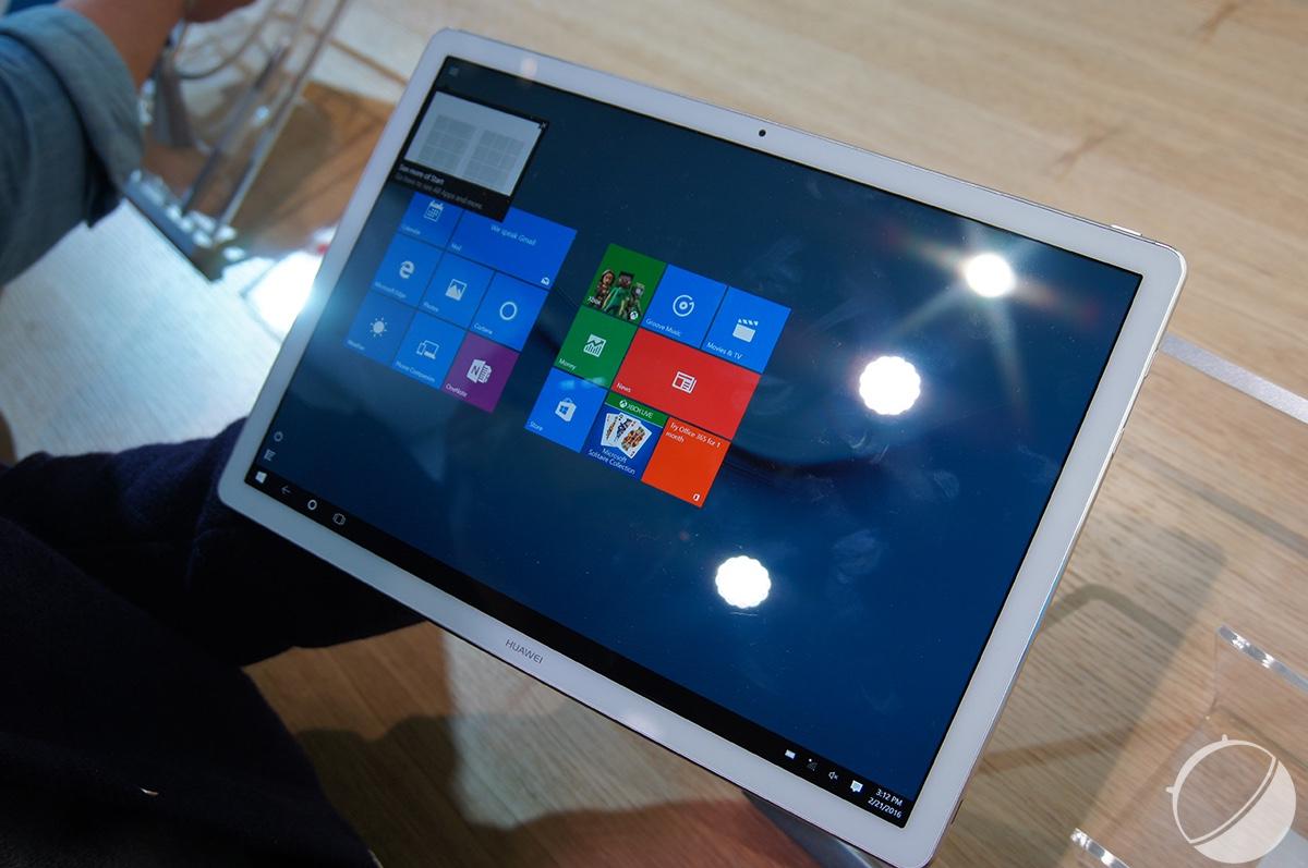 Prise en main du Huawei MateBook, un 2-en-1 prometteur