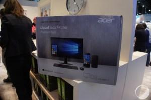 MWC 2016 : Un pack avec écran et dock à 799 euros pour l'Acer Jade Primo