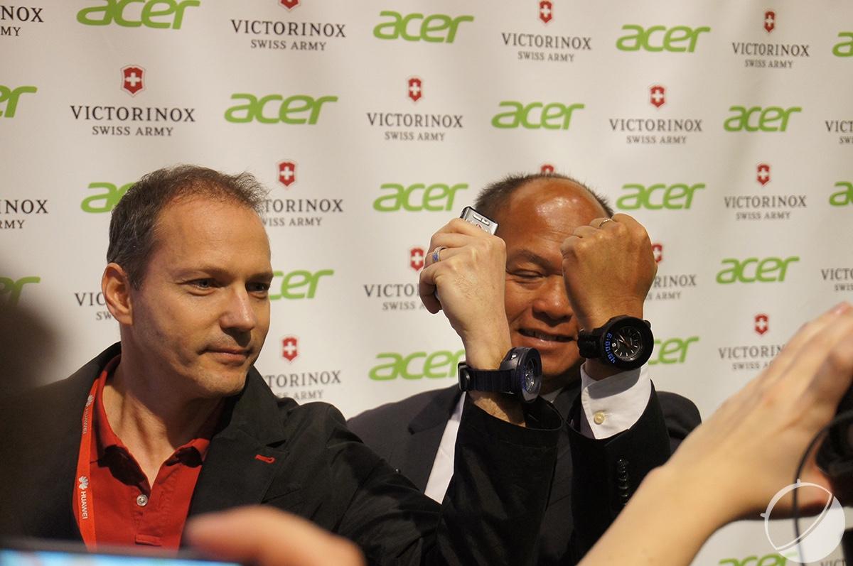 Acer s'essaie (presque) à la montre connectée au MWC 2016