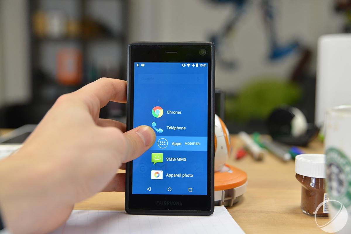 Fairphone lance son propre OS mobile
