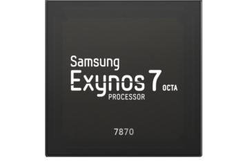 Samsung officialise l'Exynos 7870, du 14nm pour le milieu de gamme