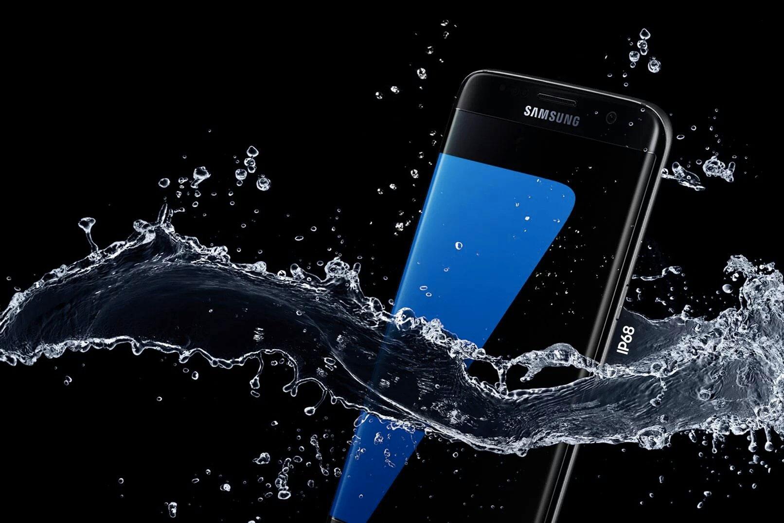 Samsung Galaxy S7, il fait son premier plongeon