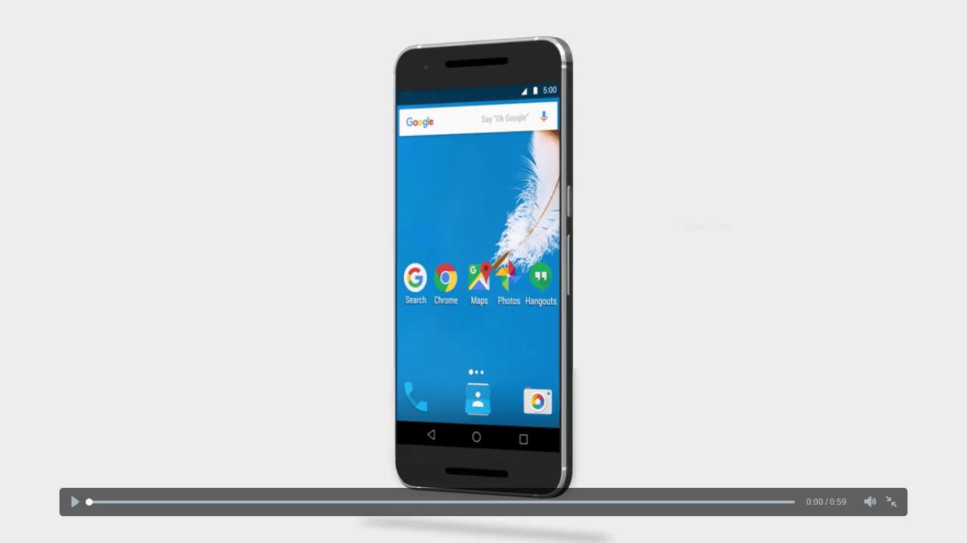 Google dément l'absence du tiroir d'applications pour Android N