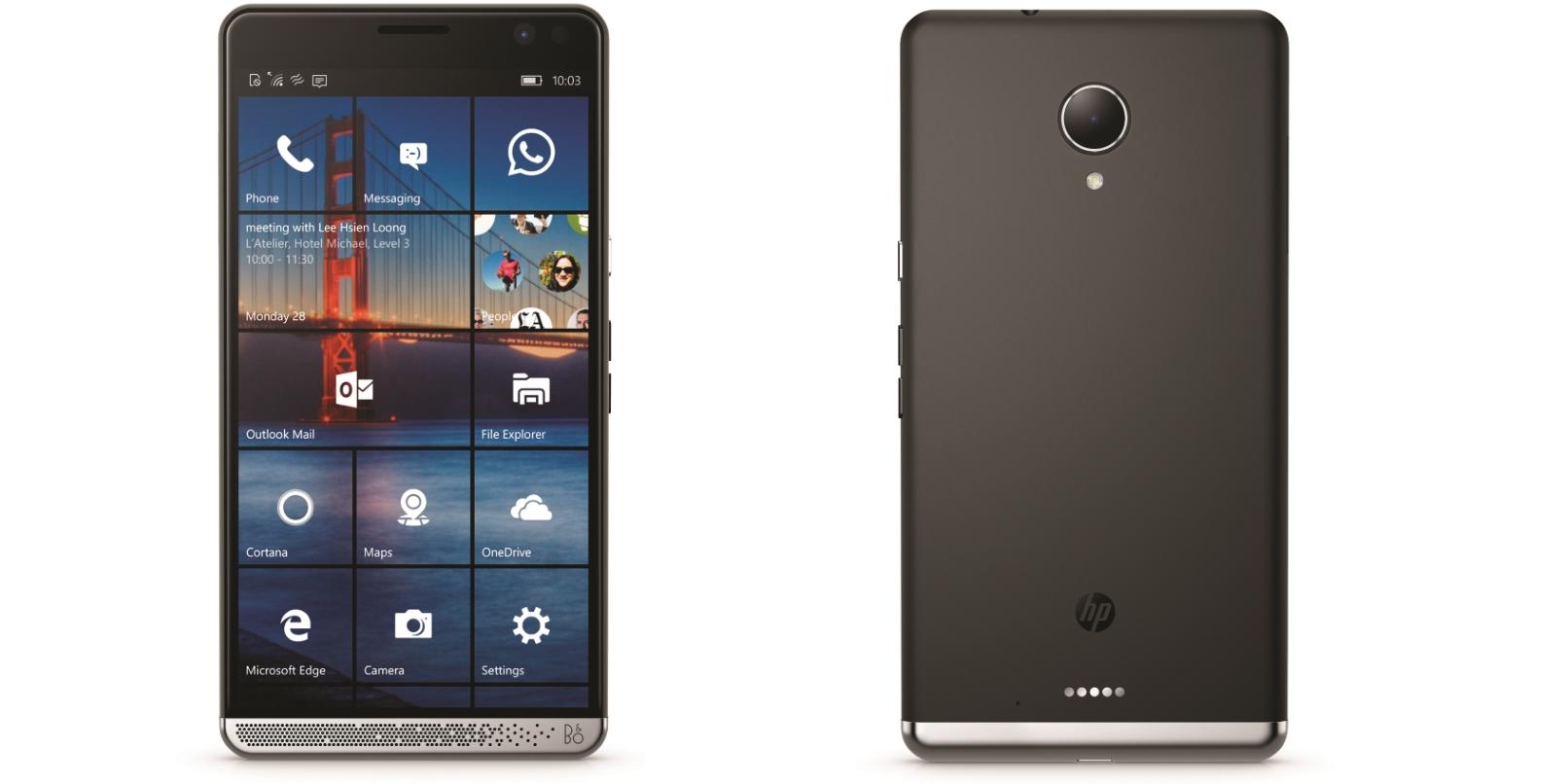 MWC 2016 : HP Elite x3, il est malheureusement sous Windows 10 Mobile