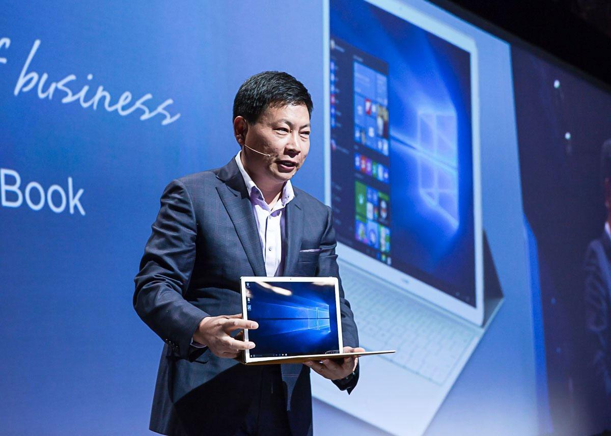Huawei sur le point de renouveler le MateBook, son iPad Pro sous Windows 10