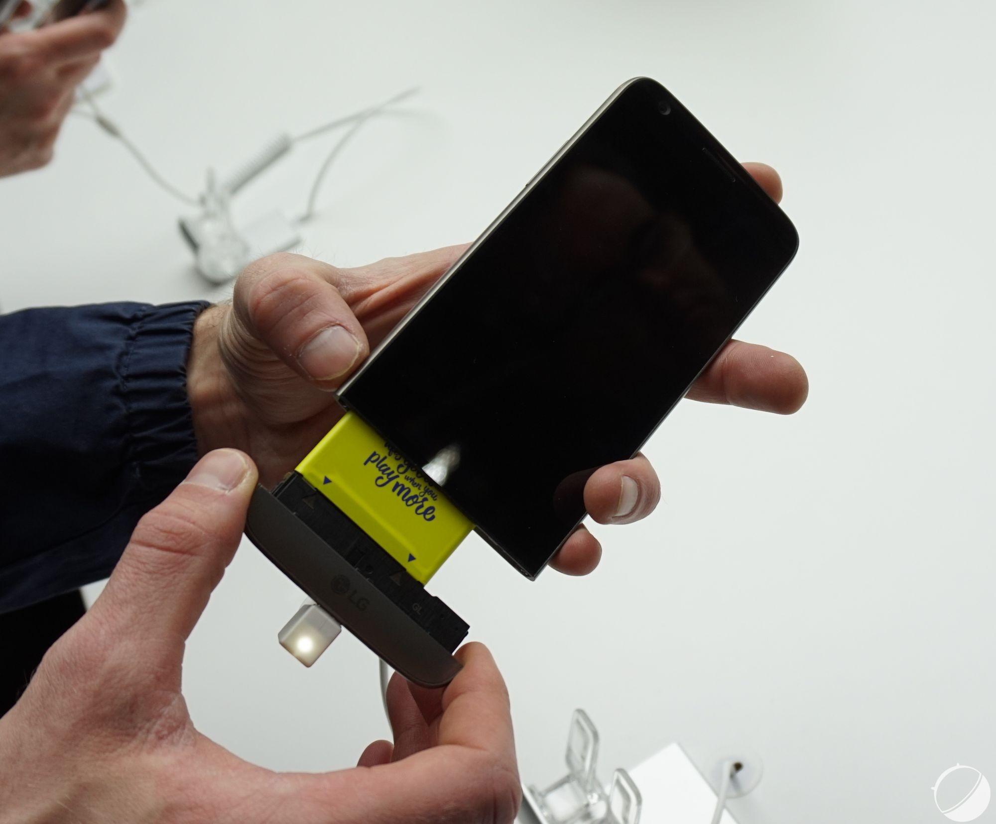 LG G5 : une Developer Conference pour la création d'une vraie gamme de modules